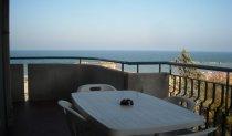 balcone fronte mare